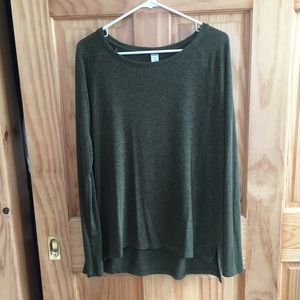 Old navy olive long sleeve